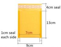9x13 selbstklebende Bubble Mailers Poly Blase Mailer Blase Versand Umschlag Post Tasche Versand Taschen Kraftpapier wasserdicht Self Sealing