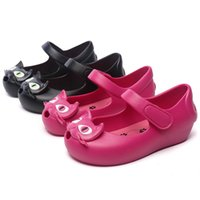 2018 Summer Girls Sandals Indoor Antiskid Sandals Cat Design...