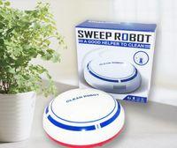 Marka yeni USB Şarj Edilebilir Vakum Akıllı Süpürme Robotu Ince Süpürme Emme Mini Otomatik Süpürme Makinesi Süpürge Ev Süpürgesi Robotlar