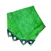 Edge punching Various Size Green Sun Shelter Shade Cover can...
