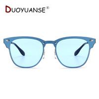 cc896c3103bbae DUOYUANSE Nouvelle mode lunettes de soleil Driver Driving alliage Lunettes  de soleil faire avec lunettes de