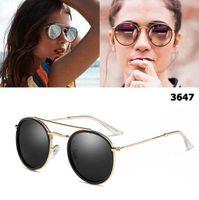 2018 neue sparen steampunk sonnenbrille frauen männer metallrahmen doppelt bride uv400 lense retro vintage sonnenbrille 11 farben