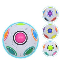 7cm Rainbow Ball Magic Cube Speed Football Fun Creative Sphe...