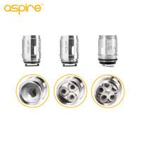 100% autentico Aspire Athos bobine A3 Tri-Coil 0.3ohm A5 Penta-coil 0.16ohm Testa di ricambio per Athos Sub Ohm Serbatoio aspiratore speeder kit
