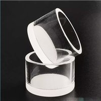quartz insert with opaque thick bottom 18mm 20mm quartz whit...