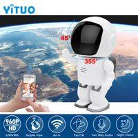 روبوت كاميرا واي فاي 960P 1.3MP HD كاميرا IP لاسلكية واي فاي كاميرا للرؤية الليلية شبكة IP CCTV دعم الصوت في اتجاهين YITUO