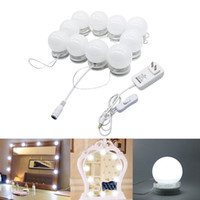 Edison2011 Makeup Mirror LED Lights 10 Hollywood Vanity Ligh...