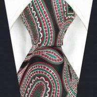 """D8 Paisley multicolor para hombre corbata de seda clásico de la boda del tamaño extra larga 63"""" Brand New lazos de la moda masculina para Hanky"""
