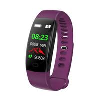 F64 oder GPS-Armband Blut-Sauerstoff-Monitor Smart-Armbanduhr Wasserdicht Schlaf-Monitor Fitness Anruf Alarm Smart Watch für iPhone und Android