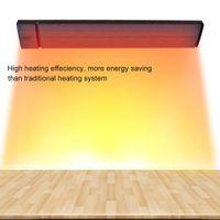 Ahorro de energía Ahorro del 30% del radiador infrarrojo JH-NR18-13A Calentador eléctrico JHCCOL 1800W negro para cafés de habitación, YOGA, baño, hall, hotel