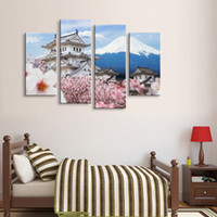 Painting & calligraphy Mount Fuji canvas poster wall art liv...