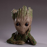 Groot Flowerpot Action Figures Guardians of the Galaxy Aveng...