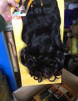 20 inç sentetik örgü saç örgü demetleri 200g bir kafa Brezilyalı saç demetleri sentetik örgü İtalyan kıvırcık manikür hizalanmış saç