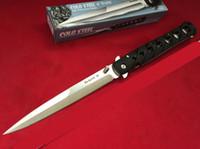 Soğuk Çelik 6inch Ti-Lite 26sxp 3 renk 440 bıçak Katlama Pocket Knife Survival Bıçak Noel bıçak hediye Bıçaklar 1pcs freeshipping