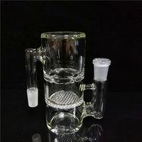 Glass Bongs Ash Catchers Percolator 14mm Maschio a femmina per i bong dell'acqua