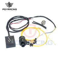 PQY - Nouvelle vanne de décharge électrochimique diesel NOIR avec adaptateur extérieur / vanne de décharge diesel / BOV diesel avec adaptateur PQY5011W + 5742