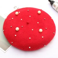 EPU- MH1895 Knit Wool Beret for Autumn Winter Girl Artist hat...