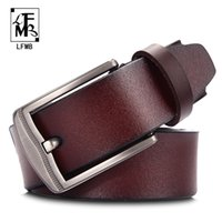 [LFMB] leather belt men male genuine leather strap designer ...