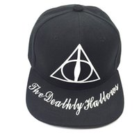 5f465d1c1a6 Harry Potter hats Gryffindor Slytherin Skull Caps Hufflepuff Ravenclaw Cosplay  Costume hats Snapback Anime lovers Cap Men Women 999
