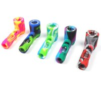 Best selling Titan Silicone glass hand spoon pipe for legal ...