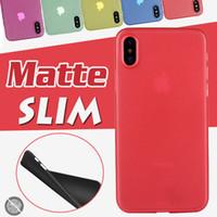 0.3mm ultra mince mince slim mate givré transparent transparent flexible souple flexible PP Cover Cover pour iPhone 12 Mini 11 Pro Max XS XR x 8 7 6 6S Plus SE 2020