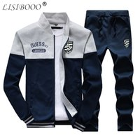 LISIBOOO Fashion Tracksuit Men Sets 2018 Spring Winter Casua...
