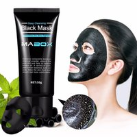 50g Mabox Bamboo charcoal Blackhead Removal Face Mask Deep C...