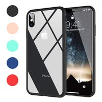 Clear Hybrid Case For iPhone X   XR   XS   XS Max 9H Hardnes...