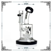 Phoenix 6 inches mini glass bongs small dab oil rig with mat...