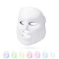 TM-LM003 جديد الكورية الضوئي الصمام الوجه قناع المنزل استخدام صك الجمال مكافحة حب الشباب الجلد تجديد الصمام الضوئية الجمال قناع الوجه