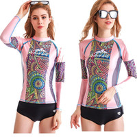 New Wetsuit Rash Guard Women Long Sleeve Swim Shirts Bathing...