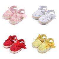 Newborn Baby Girls Princess Shoes Classic Summer Infant Todd...