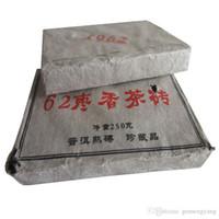 250 g di tè Pu Er maturo Yunnan 62 fragranza di giuggiola tè di er tè mattone organico pu'er rosso puer albero più vecchio naturale pu erh mattone tè nero puerh