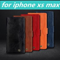 pour 2in1 iphone cas iphone6 ​​/ 7 / 8s x max plus samsung galaxy s8 / 9 plus note8 9 cuir PU
