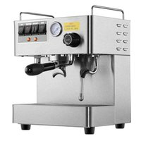 Neue CRM-3012 Kommerziellen Dampf Espresso Kaffeemaschine 220 V 1,7L Doppelkessel Edelstahl Kaffeemaschine