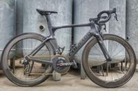 بوب كولنااجو ديي الطريق الكربون دراجة كاملة / دراجة كاملة مع 105 R7010 groupset 454 الكربون العجلات