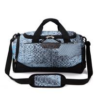 Fashion Brand Designer Duffel Bags Women Men Handbags Large Capacity Travel Duffle  Bag Plain Striped Waterproof Sport Bag Shoulder Bags 3a67e5f76cb43