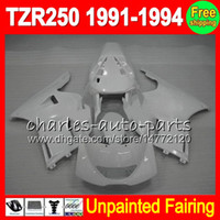 8Gifts YAMAHA TZR250 용 페어링 키트 전체 1991-1994 TZR 250 TZR-250 R250 91 92 93 94 1991 1992 1993 1994 페어링 Bodywork Body