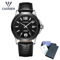 2018 New Cadisen Brand Classic Mens Watches Auto Date Mechan...