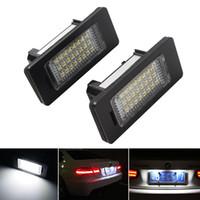 1 زوج LED لوحة ترخيص سيارة ضوء لسيارات BMW X1 X5 X6 E39 E60 E61 E70 E71 E81 E82 E84 E90 E91 E92 E93 LED السيارات رقم لوحة مصابيح