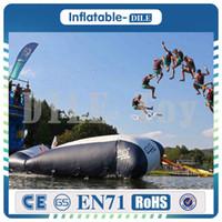 شحن مجاني 5 متر * 2 متر نفخ فقاعة الماء ، blob القفز المياه اللعب ، فقاعة الماء القفز حقيبة نفخ أكوا الترامبولين للبيع