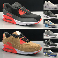 2018 New Classic Air Cushion 90 Running Shoes For Men Outdoo...