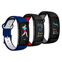 Bluetooth Smart Band Q6S Bracelet Moniteur de fréquence cardiaque IP67 Étanche Smartband Bracelet de suivi d'activité pour Android 1pc