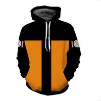 8-color erkekler rahat 3D baskı Naruto homespun üstleri şık beyzbol ceket sıcak kazak S-5XL kalınlaştırmak