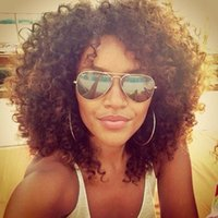 Wholesale Short Afro Kinky Curly Hairstyles - Buy Cheap Short Afro ...