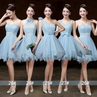 Sweet Memory blue Bridesmaid dress wedding party dress bride...