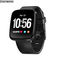 SENBONO V6 Heart Rate Monitor Fitness tracker Blood Oxygen P...