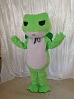 Adulte taille Grenouille verte mascotte personnalisé Xmas Travel Frog mascotte déguisement costume Shool Event Birthday Party Costume Mascotte
