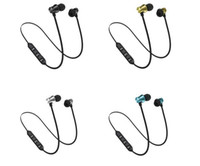 XT11 Bluetooth Headphones Magnetic Wireless Running Sport Ea...