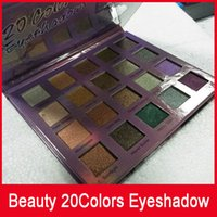 Beauty Smokey Eyeshadow 20 colors Pallete Shimmer Matte Eye ...